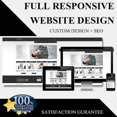 Responsive Mobile Friendly Website Design , Web Design ,  Google submission SEO