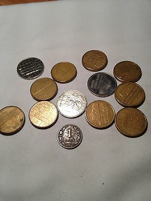 Joblot of 13 Nederland coins - see all pictures!