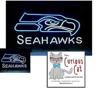 Seahawks Neon Sign in Canada 250-897-0107