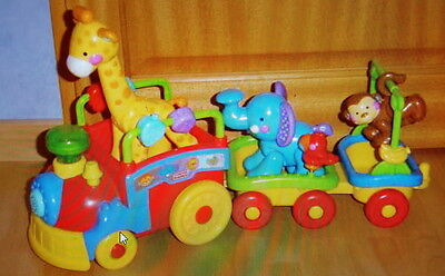 Fisher Price   -  TRAIN MUSICAL DES ANIMAUX