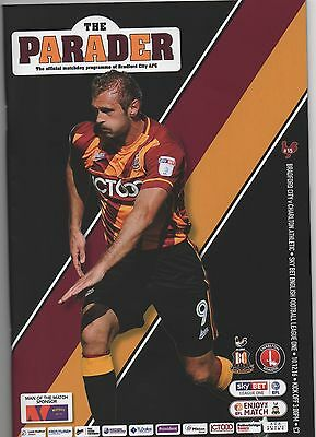 Bradford City v Charlton Athletic 2016/17