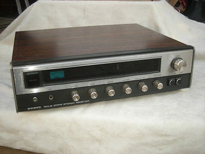 Vintage ONKYO Stereo RECEIVER, Y-200, Amplifier & Radio, 1960/70's - As Found