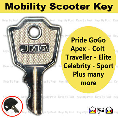 2 x Spare Replacement  Key Pride, Elite 4, GO GO, Colt, Traveller, Celebrity