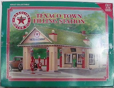 Texaco Town Filling Station First in the Series