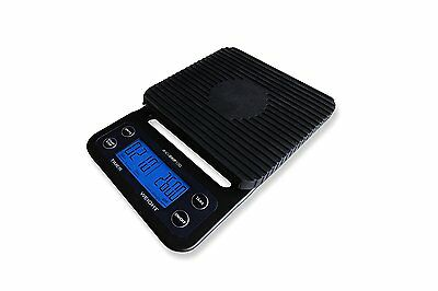 AcuDrip100 Digital Coffee Drip Scale and Timer 0.1 Gram Accuracy AcuDrip 100 3kg