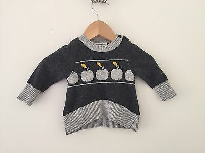 Baby Girl Girls COUNTRY ROAD Jumper Knit Top, Size 000 0-3m, Excellent Condition