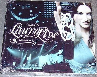 LAURA PAUSINI Lauralive World tour 2009 CD+DVD Digipak LIVE SIGILLATO NEW&SEALED