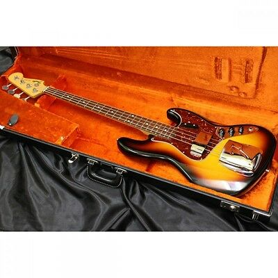 Fender Custom Shop 1964 Jazz Bass NOS w/hard case From JAPAN Free shipping #H120