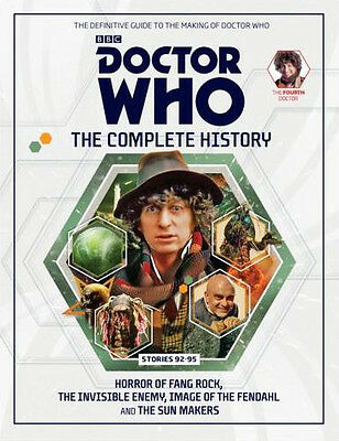 Doctor Who The Complete History Volume #36 Hardcover Hachette