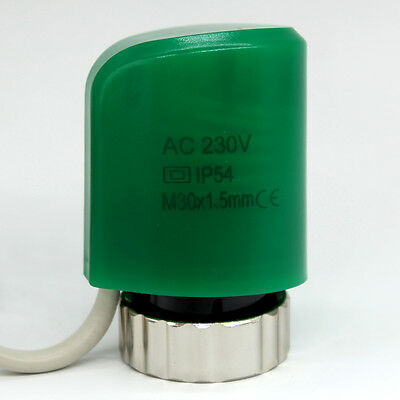 NO NC 24v 230v Normally close open electric thermal actuator for manifold