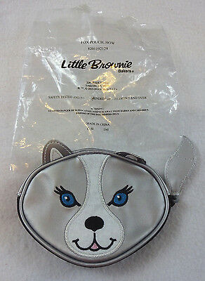 New Girl Scout Little Brownie Bakers Fox Pouch Coin Purse Wallet Zip Up Kellogg