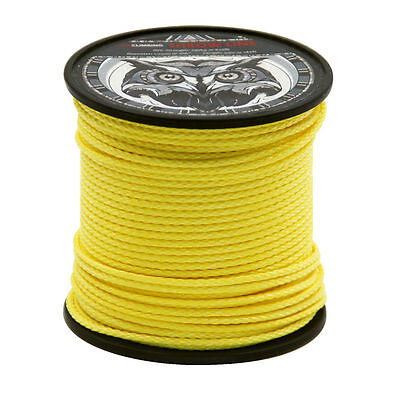 Yellow 180ft Throw Line 100% UHMWPE for Camping Trekking Tree Working Arborist