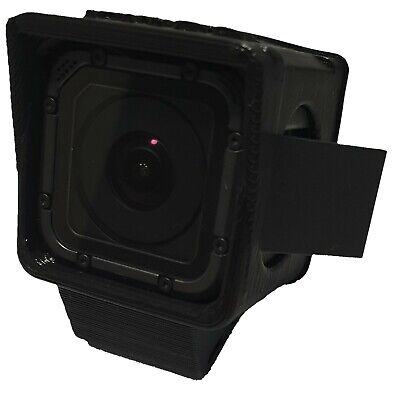GoPro Session  5/4 quadcopter mount /case Flexible 3D printed Mid angle 30deg v2