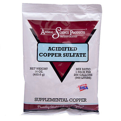 Acidified Copper Sulfate 16 oz  (454 gr)