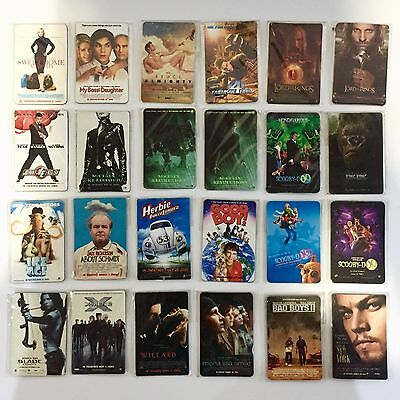 MOVIE POSTER FRIDGE MAGNETS COLLECTIBLES (Movie in Theatre in 2002-2005)