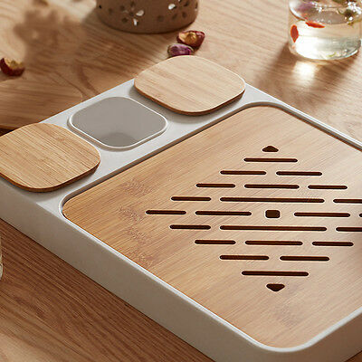 Chinese Bamboo Gongfu Tea Table Serving Tray