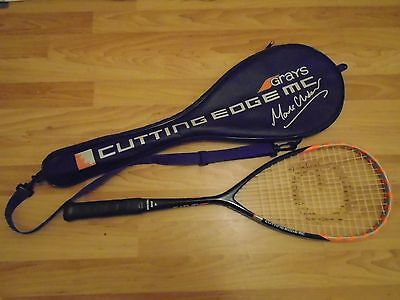 Grays Cutting Edge MC Squash Racquet. Designed by Mark Chaloner. Excellent.