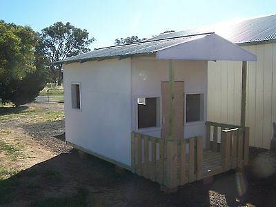 Cubby House - Large Fully Framed, trussed & lined sleep out