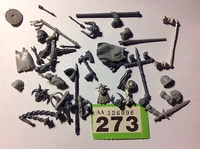 Warhammer Fantasy / Age Of Sigmar, Inc OOP Warriors Chaos Bits Part Spares  #273