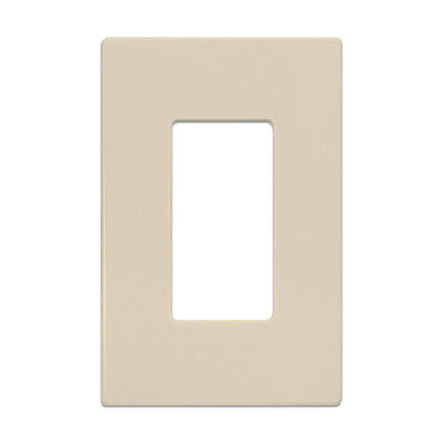 [Lot of 5] New INSTEON 2422-223 SingleWall Plates, Ivory