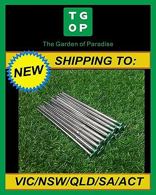 Synthetic Turf Artificial Fake Grass Pins Pegs Nails Staples 20 Pack 150mm x 5mm