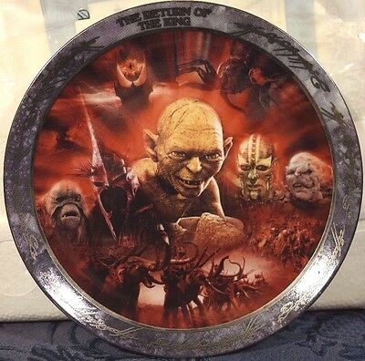 Lord Of The Rings The Return Of The King Bradford Exchange Plate Witch King Lotr