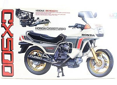 Tamiya 1:6 Honda CX500 Turbo Motorcycle Kit #1626 Model Rectifier Early Issue