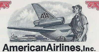 American Airlines Inc., 1973, 10 7/8% Loan Certificate due 1988 (1.000 $)