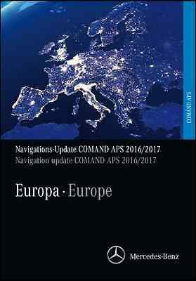 Mercedes Benz DVD Comand APS NTG2 Europe V.18 2016 2017