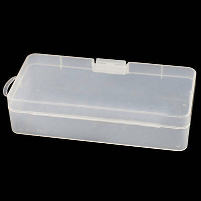 Pro Portable Plastic Clear Transparent Jewelry Drill Container Storage Case Box