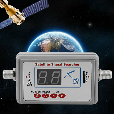 GSF-9507 LED Screen Dispaly Satellite Finder Universal TV Signal Finder XC