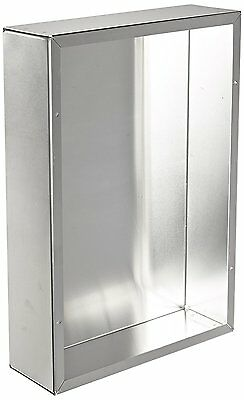 """BUD Industries AC-414 Aluminum Chassis, 14"""" Length x 10"""" Width x 3"""" Height,"""