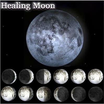 Moon In My Room Remote Control LED Wall Hanging Night Light Lamp Healing Moon