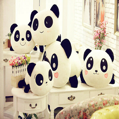 Hot Kawaii Plush Doll Toy Animal Giant Panda Pillow Stuffed Bolster Gift 80CM