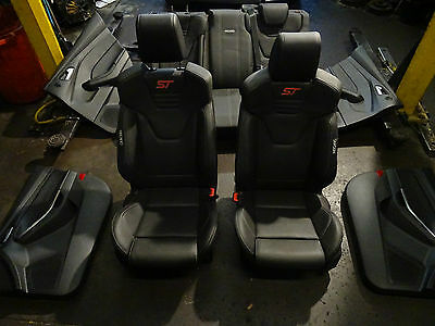 Ford focus ST250 recaro full leather interior seats front 11 - 2016 st 250