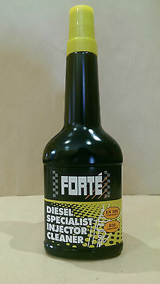 FORTE DIESEL SPECIALIST INJECTOR CLEANER 400 ml FUEL TREATMENT.