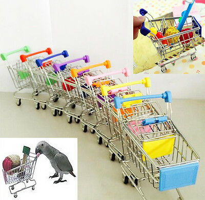 Parrot Bird MINI Supermarket Shopping Cart Kids Toy Intelligence Growth Toy VV