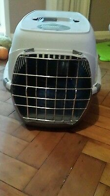 cat kitten puppy rabbit small animal travel cage carry basket pet carrier