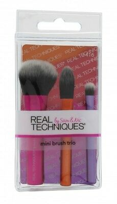 Real Techniques Gift Set Mini Brush Trio - Women's For Her. New. Free Shipping