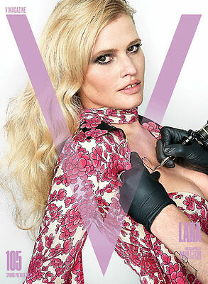 V Magazine Issue 105 Spring Preview 2017 Forever Yours - Lara Stone cover