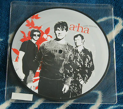 "A-Ha Aha Cosy Prisons 2006 Uk 7"" Picture Disc Limited Edition Polydor  9856228"