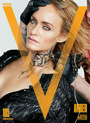 V Magazine Issue 105 Spring Preview 2017 Forever Yours - Amber Valletta cover