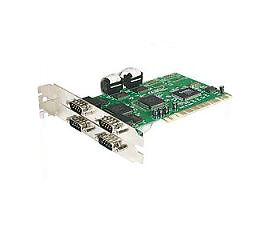 Startech com 4 Port Pci Rs232 Serial Adapter Card With 16550 Uart PCI4S550N