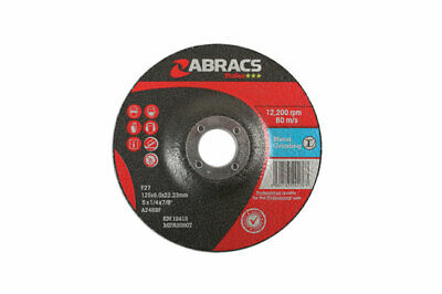 Connect 32053 Abracs Metal Grinding Discs 125mm x 6.0mm Pack 10