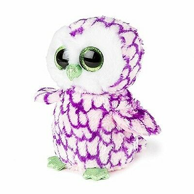 TY Beanie Boo 6 Inch Pipper The Owl Plush Cuddly Soft Toy