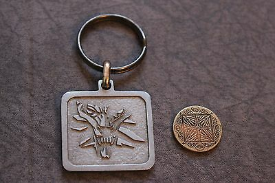 The Witcher 2 - Pendant Keychain Keyring + CUSED COIN - PROMO - ULTRA RARE!