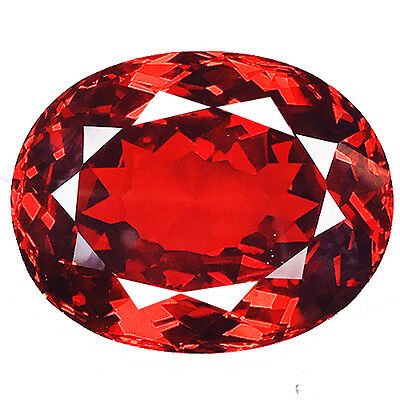 179.60 cts SPARKLING RED SAPPHIRE 33X27 OVAL SHAPE DIAMOND SIMULATED GEMSTONE