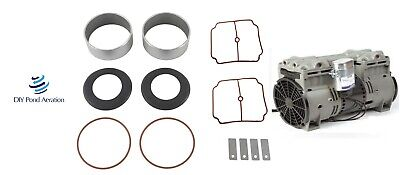 NEW Thomas 2650/2660 Compressor Rebuild Kit w/ Sleeves-Bearings-SK2660-TCK-2650