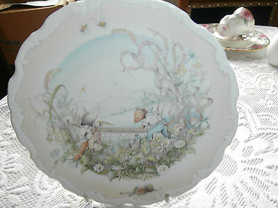Royal Doulton bone china wall plate Wind in the Willow coll vgc