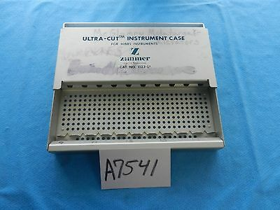 Zimmer Surgical Ultra-Cut Instrument Case For Hibbs Instruments 1123-01